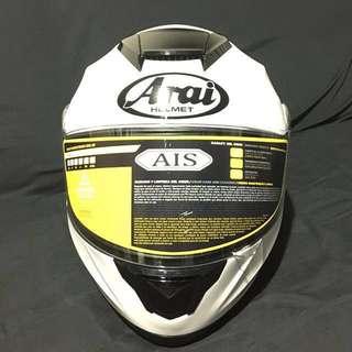 Flip Up Modular Helmet White L Size