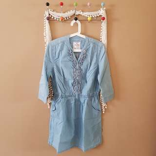 Dress denim baleno