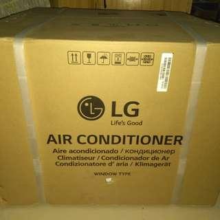 2018 model LG remote control timer window type aircon LA100SC