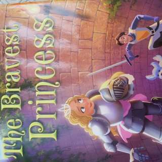 The Bravest Princess- E.D Baker NEW HARDCOVER