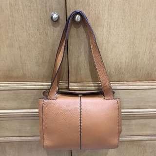 Gucci Fera - Square Brown Bag
