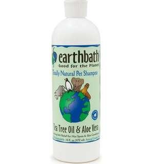 Earthbath hot spot relief aloe n tea tree