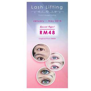 Lash Lifting Promo rm48 NOW