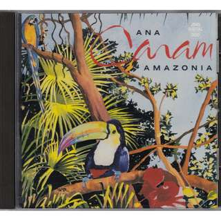 Ana Caram: <Amazonia> (1990 CD) (Chesky Records)