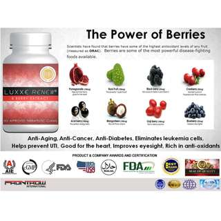 Luxxe Renew ( 8 SUPERFOODS in 1 MEGA CAPSULE )
