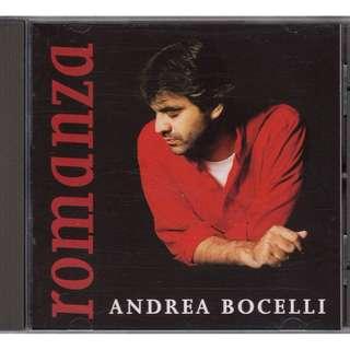 Andrea Bocelli: <Romanza> (1996 CD) (Made in U.K.)