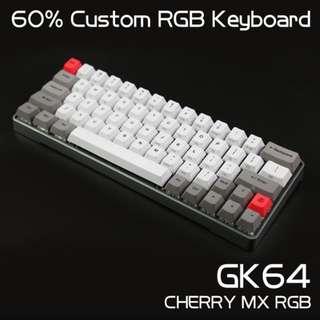 New GK64 Mechanical Keyboard