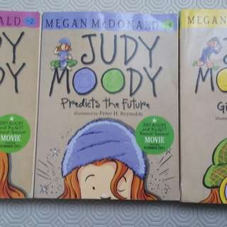 Judy Moody Set! #2,4 & 9 Gets Famous, Predicts the future and Girl Detective