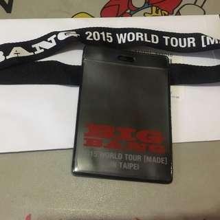 【BIGBANG】MADE IN TAIWAN VIP 證件套