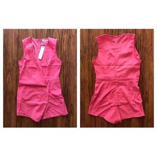 Pinky Peach Playsuit - BNWT