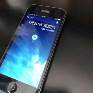 iphone 5 16GB 灰黑色