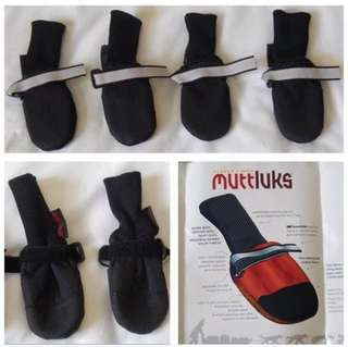 "((NEW)) - Size XXS - Black ""Muttluks"" for Dogs (( reduced firm ))"