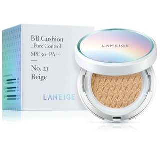 Laneige Whitening BB Cushion SPF 50+ PA++ No.21 Beige **Authentic and Directly from Korea**