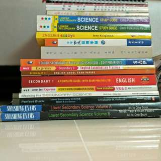 secondary assessment books