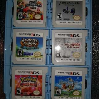 Nintendo 3DS XL New with 7 free games