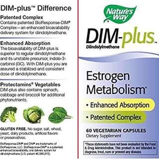 DIM-plus estrogen metabolism