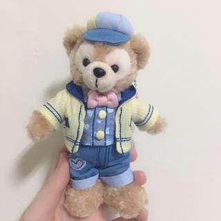 2018 日本 海洋迪士尼 情人節 達菲 Duffy 吊飾 鑰匙圈
