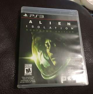 PS3 Alien Isolation Nostromo Edition