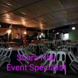 Mini Event Renting Chair Table Tentage Lighting and Other Equipment For All Occasions