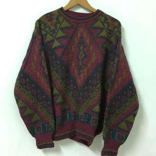 Vintage 古著義大利製復古毛衣