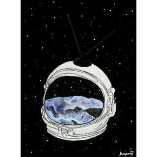 """Live from the Cosmos"" Art Print"