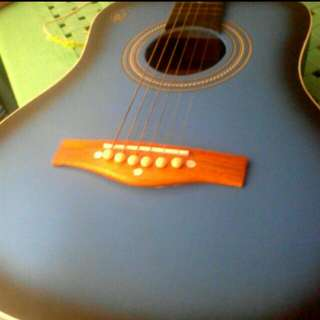 RJ Baby Masa Guitar In Sky Blue (Repriced)