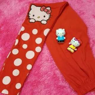 DISKON 50% legging HELLO KITTY CELANA dewasa