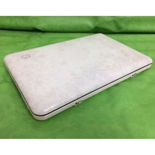 """netbook HP Mini Color White super smootness 1gb memory 500.hdd windows 8pro 10.1""""inches good for works in office in student ready to use:"""