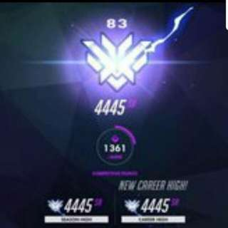 Overwatch TOP500 Boost