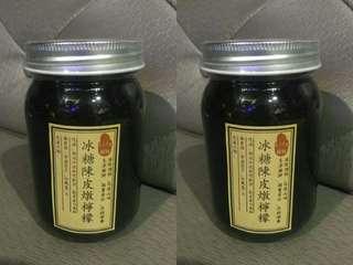 代理* 自家制冰糖陳皮燉檸檬 500g.