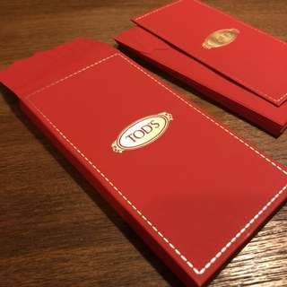 TOD'S RED POCKET SET 利是封 / RED PACKET SET