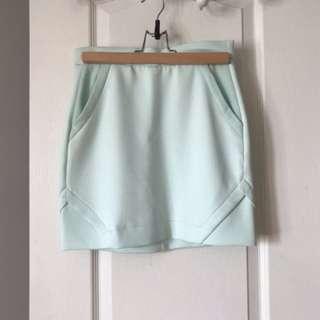 Icone - blue mini skirt