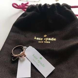 BNWT Kate Spade Bow Ring