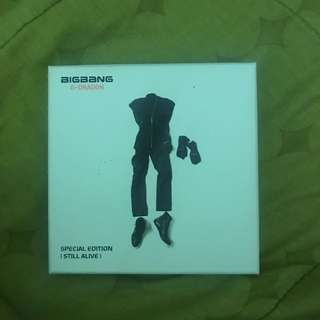 BIG BANG ALIVE ALBUM (G-DRAGON)