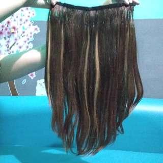 Hairclip tebel ori 100000% human hair #cintadiskon