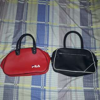Authentic Fila Bags (Take all)