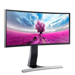 "Samsung 29"" Curved Monitor Display Ultra Wide (21:9) 3440 x 1440 SE790C"