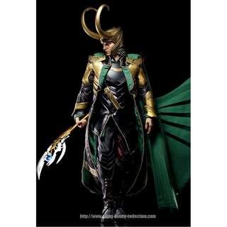 Loki Hot Toys MMS176 Tom Hiddleston MISB