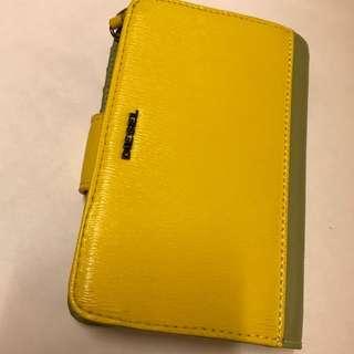 Diesel 全新真皮 wallet (yellow)