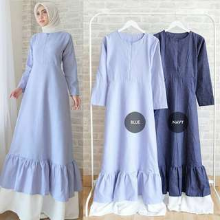 MF - 0118 - Dress Busana Muslim Sarmila Maxi