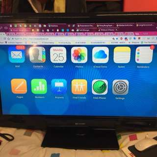 "LIKE NEW - SHARP 37"" LCD Colour TV"