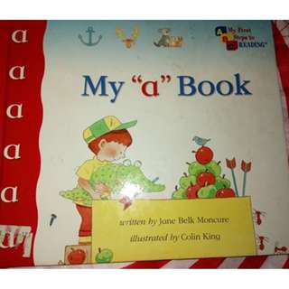 Learning to Read: My 'a' book