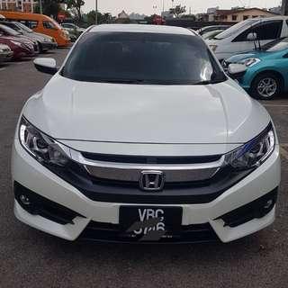 Honda civic fv turbo untuk disewa