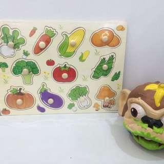 Vegetable board