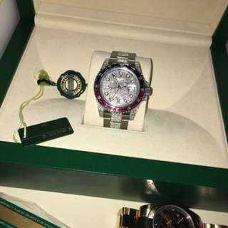Rolex diamond gmt