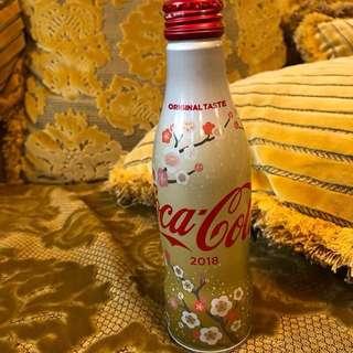 2018跨年限定瓶裝可口可樂