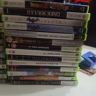Cheap Xbox 360 Games ( A LOT)
