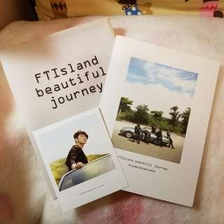 Ftisland ftisland beautiful journey連敏煥小卡