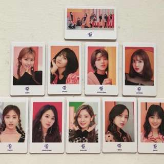 Twice one more time card