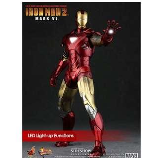 Iron Man Mark VI (Normal Edition Mark 6) Brand NEW MMS 132 1/6 Scale
